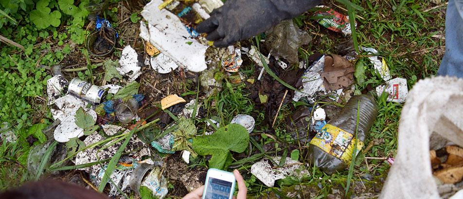 ¡Limpiando el planeta con ayuda de la tecnología!